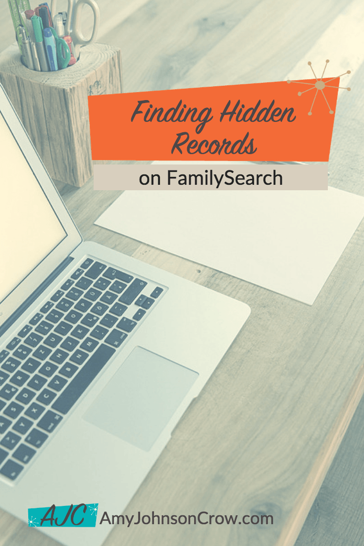 Finding Hidden Records on FamilySearch | Genealogy and