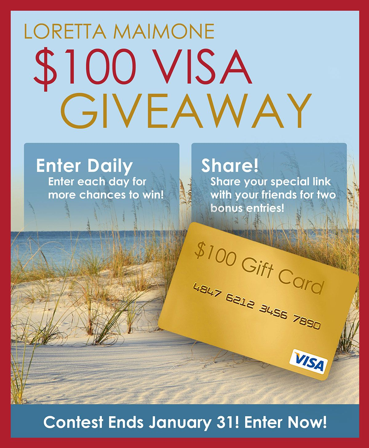 Enter sweepstakes contests giveaways