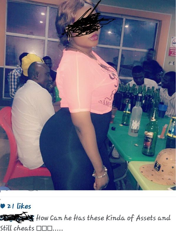 GOSSIP, GISTS, EVERYTHING UNLIMITED: See The Question a Lady Asked Her Cheating Man