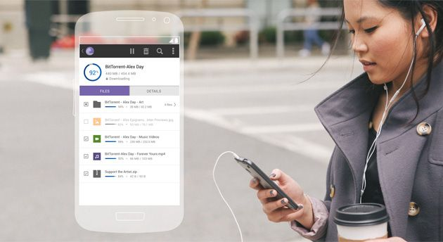 BitTorrent's revamped Android apps let you download just the files you want