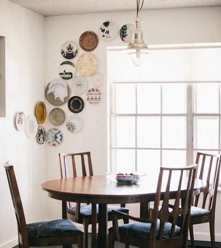 57 Kitchen Wall Decor Ideas | Kitchen Decor Ideas | Plates ...