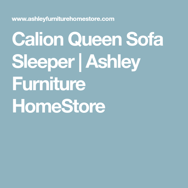 Best Calion Queen Sofa Sleeper Ashley Furniture Homestore 400 x 300