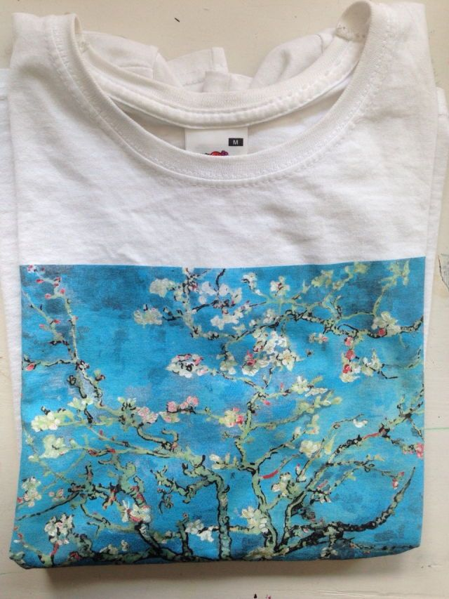 72eddcd798fd Almond Blossom Shirt (Vincent Van Gogh)