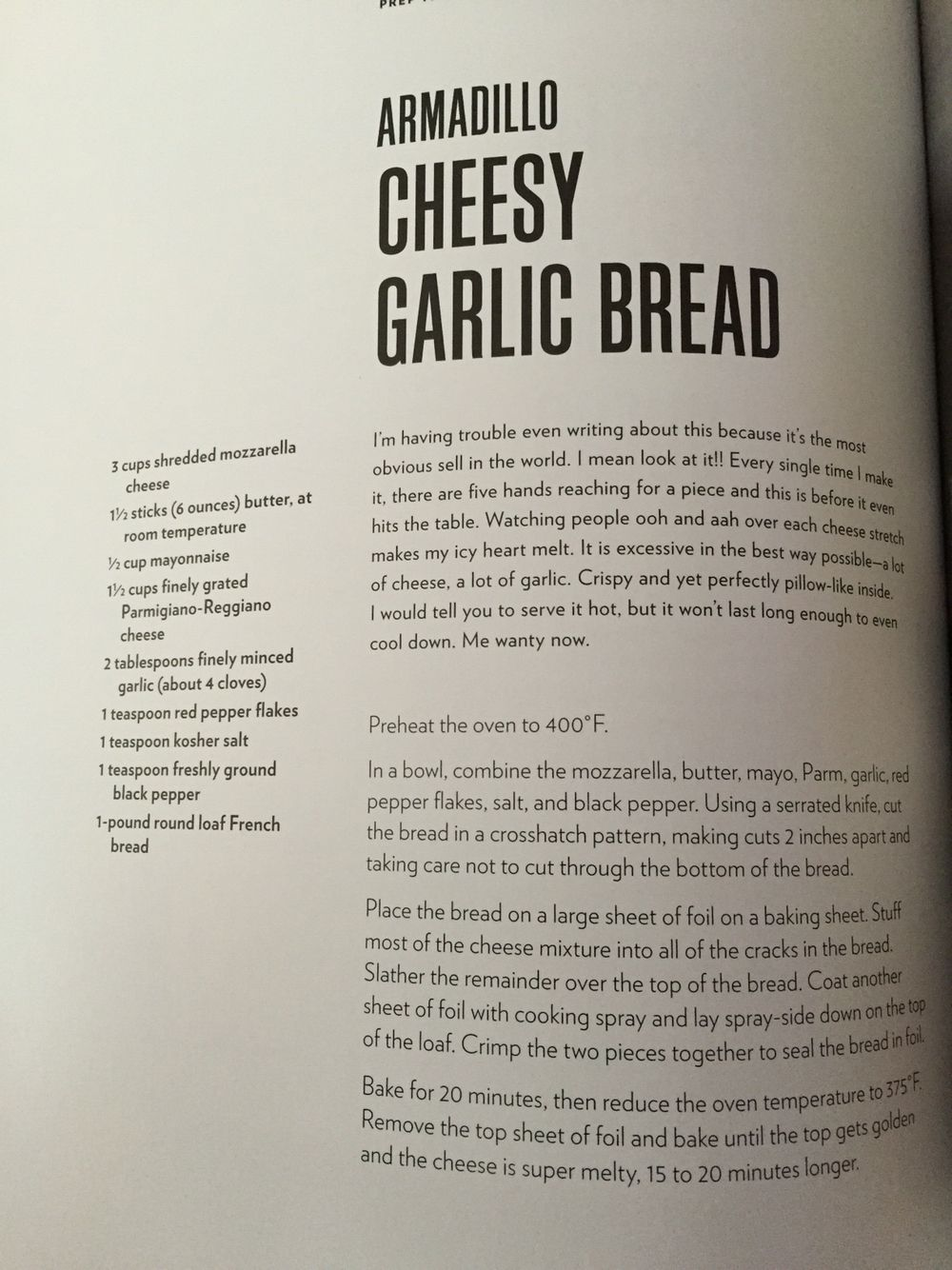 Chrissy Teigen S Armadillo Cheesy Garlic Bread Garlic Bread Cheesy Garlic Bread Chrissy