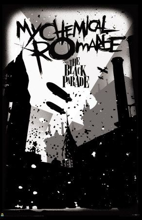 Another Poster From The Black Parade Time Of Mcr This Is An Actural And Yet
