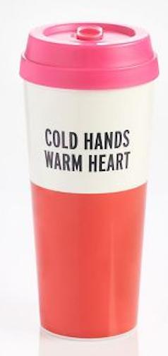 Kate Spade Cold Hands Mug