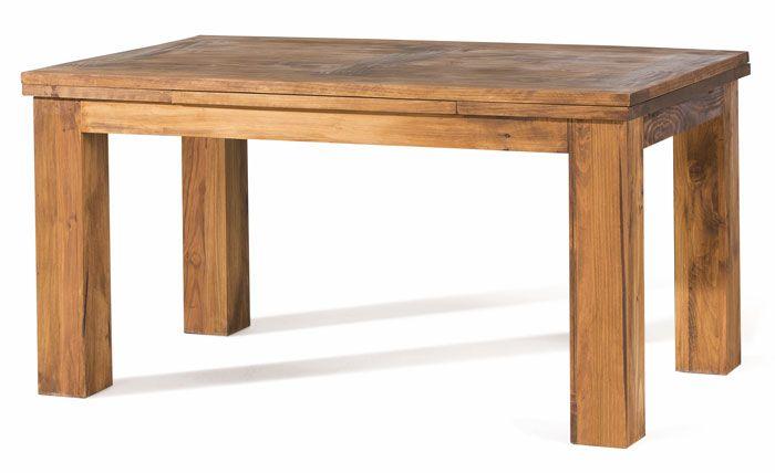 mesa de comedor extensible rustica color pino coleccion zoom ref ...