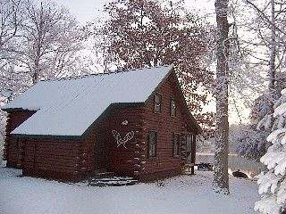 Lake Hortonia Cabin Rental Beautiful Lakefront Log Cabin