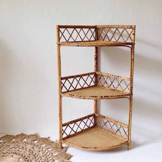 Your Place To Buy And Sell All Things Handmade Bamboo Shelf Shelves Corner Shelves