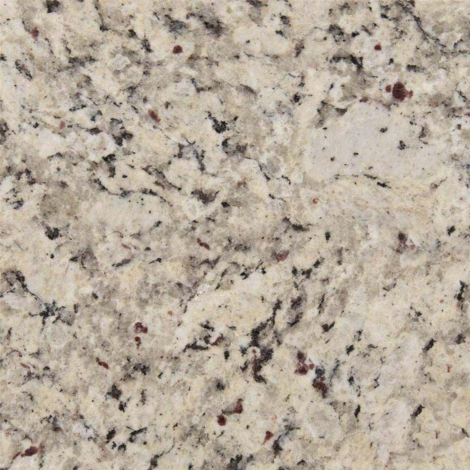 Blanco Tulum Is An Incredibly Versatile Multipurpose Granite Imported From Brazil Predominan White Granite Countertops White Granite Slab Granite Countertops