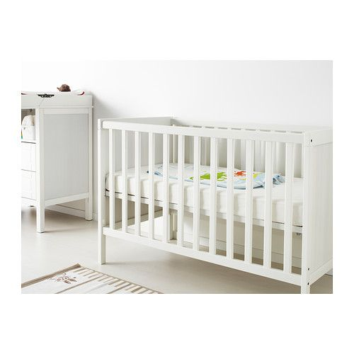 sundvik crib ikea the bed base can be placed at two. Black Bedroom Furniture Sets. Home Design Ideas