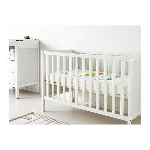 Kinderbett ikea sundvik  GULLIVER Crib, white $89.99 Article Number : 202.033.32 The bed ...