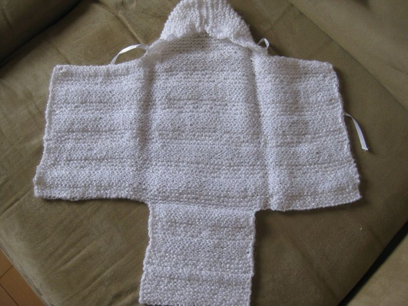 modele tricot layette nid d ange