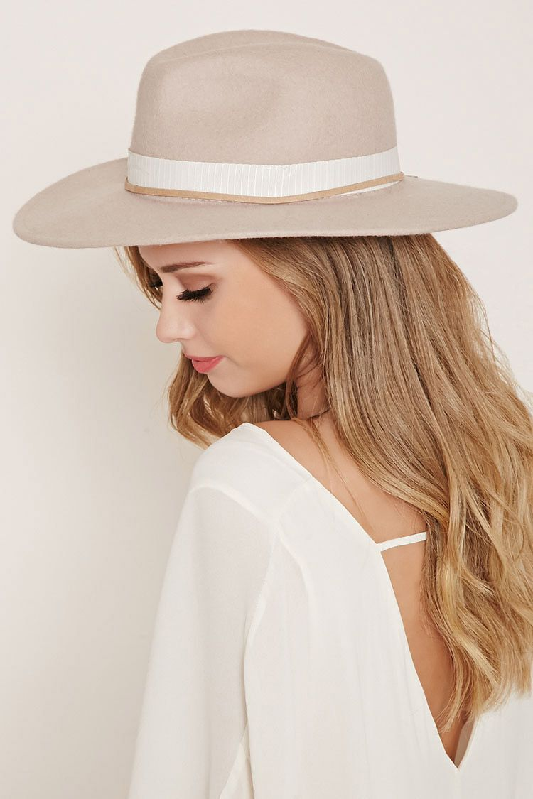 89cf6e06fcdeaa Crafted from wool, this fedora is complete with a wide-brim, a ribbon