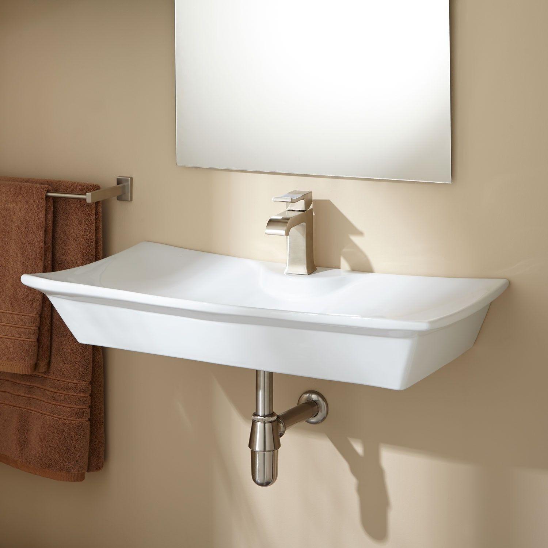 Marvella Wall Mount Bathroom Sink Bathroom Sinks Bathroom Small Bathroom Sinks Wall Mounted Bathroom Sinks Wall Mounted Bathroom Sink