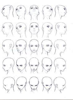 남녀얼굴 그리기 인체그리기 drawing face body drawing art