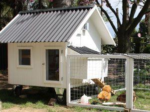 mobiles h hnerhaus in wei h hner pinterest h hner h hnerstall und h hnerhaus. Black Bedroom Furniture Sets. Home Design Ideas