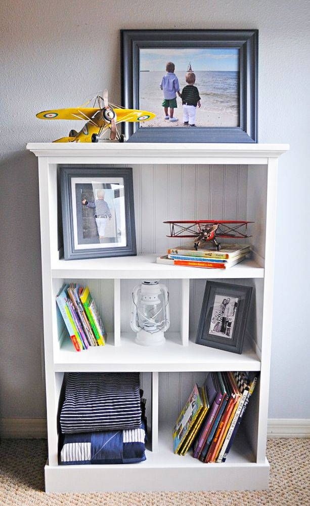 how to upcycle a cheap, old bookcase into a new, design-worthy