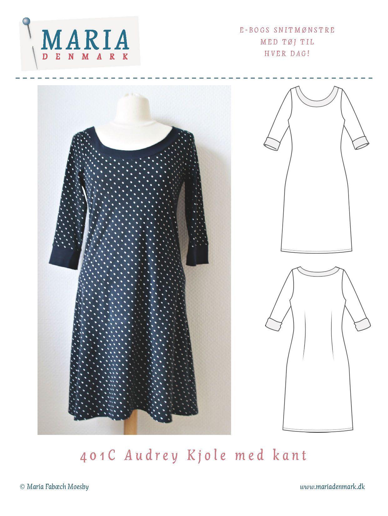 snitmønstre kjoler gratis
