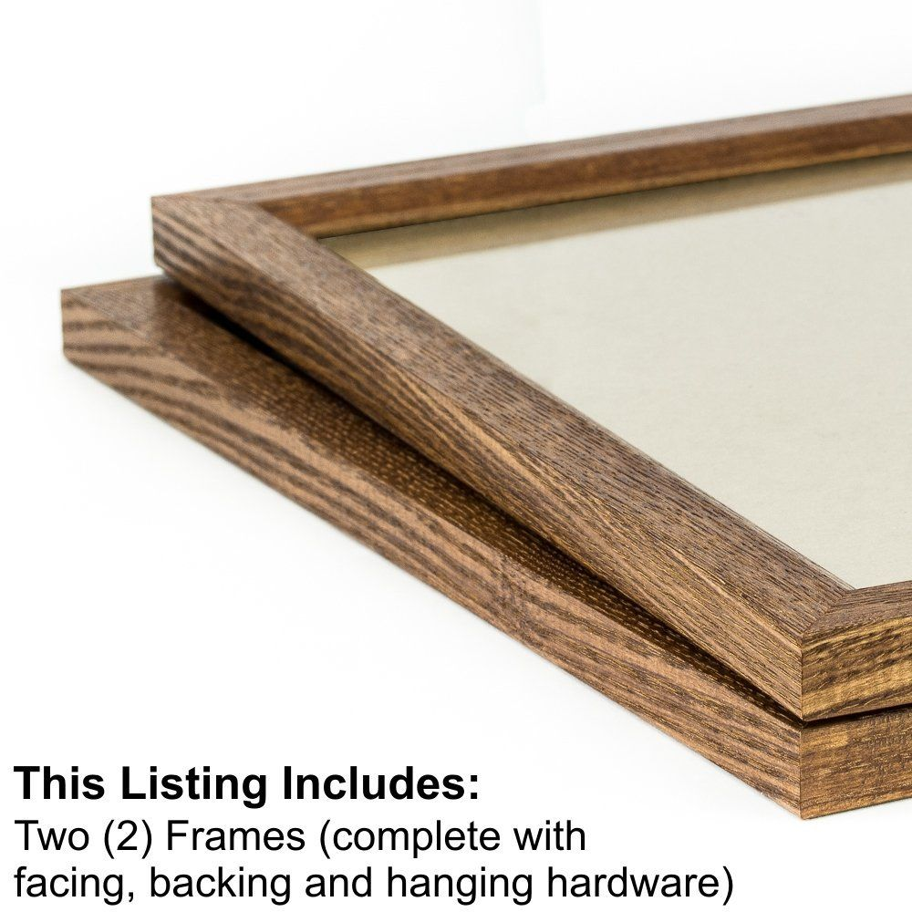 Amazon Com Craig Frames 8261610 16 By 20 Inch Picture Frame 2 Piece Set Solid Wood 84 Inch Wide Honey Brown Summer Living Room Craig Frames Frame