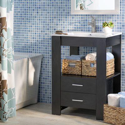 Yosemite Home Decor 24 Single Bathroom Vanity Set Reviews
