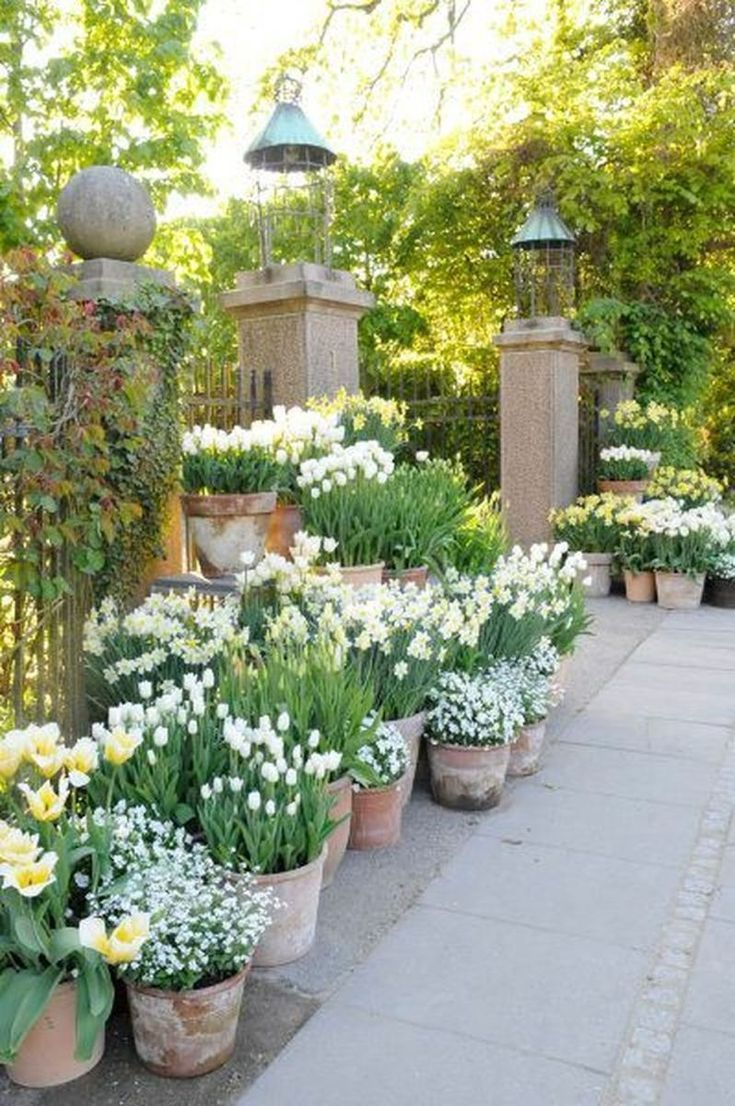 Photo of Beautiful french cottage garden design ideas 45