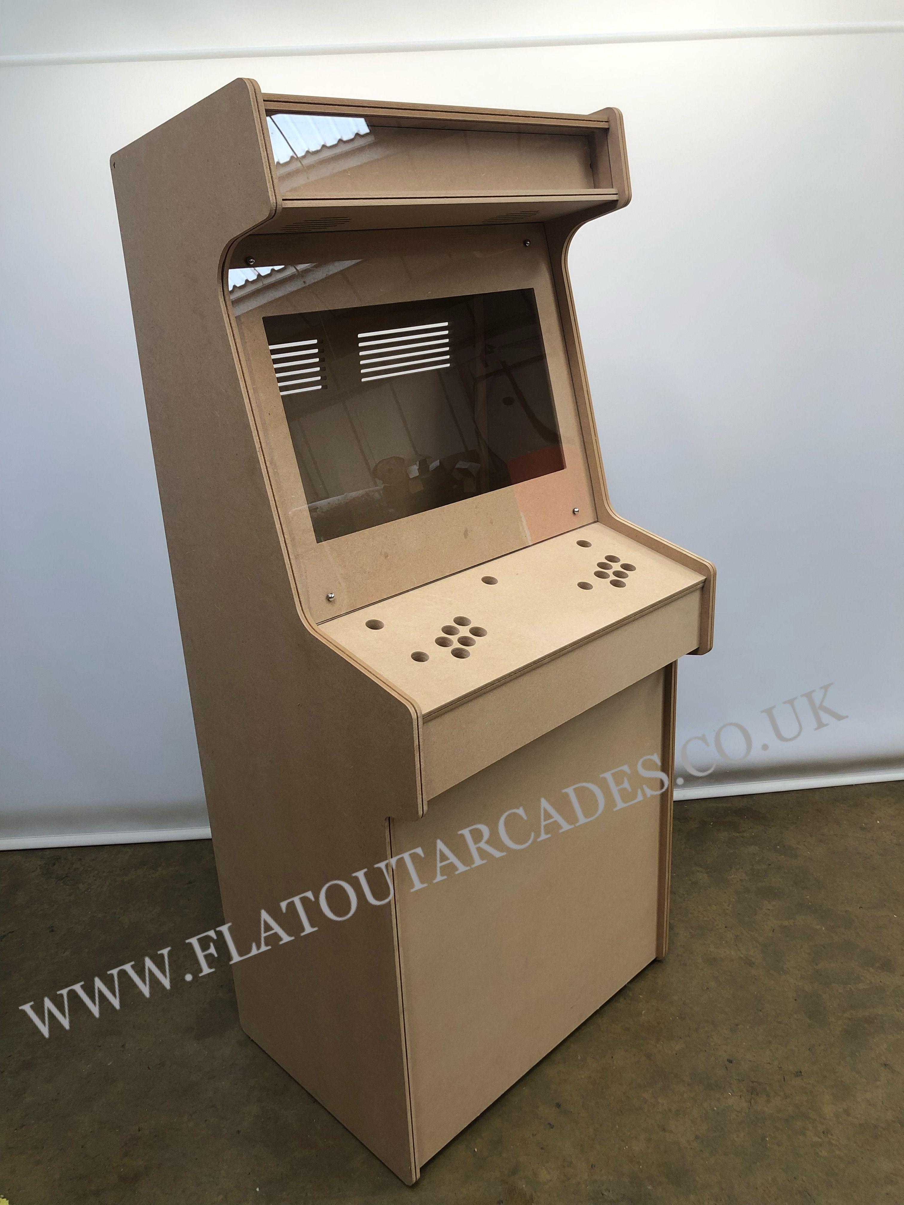 Flatout Arcades Custom Upright Cabinet Diy Arcade Cabinet Arcade Cabinet Arcade