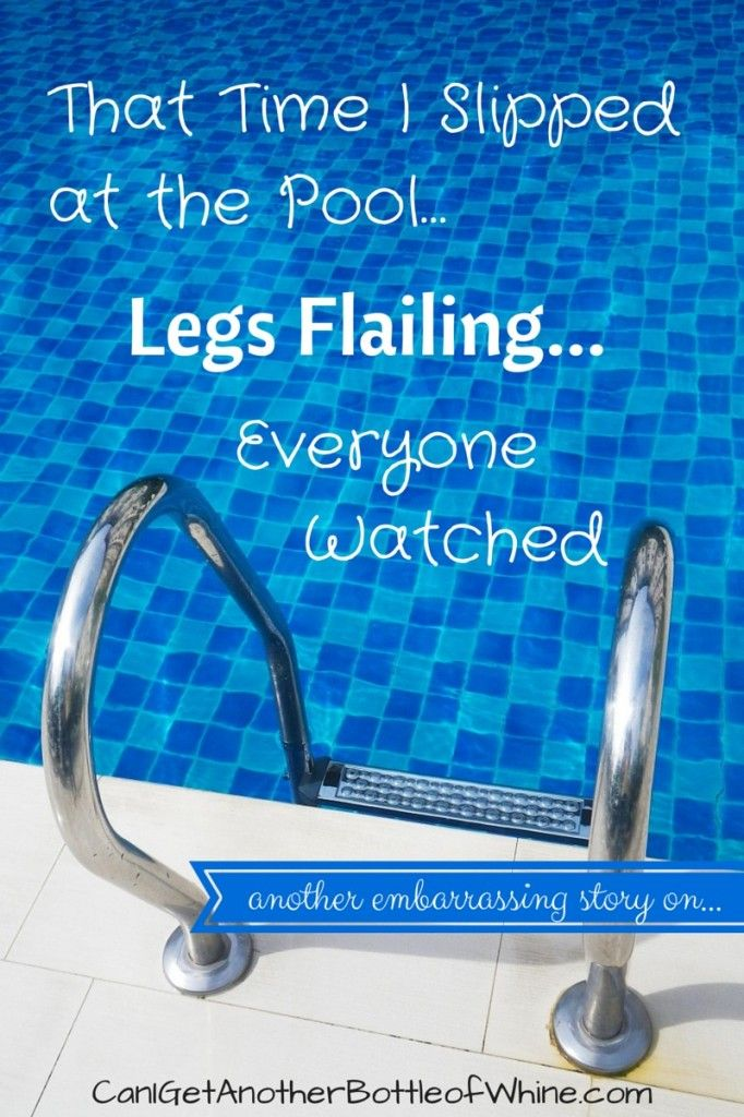 That Time I Slipped At The Poollegs Flailingeveryone -5503