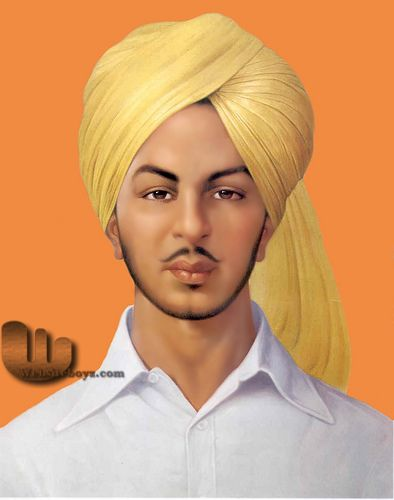 Shaheed Bhagat Singh Original Photo Images Wallpapers Pictures