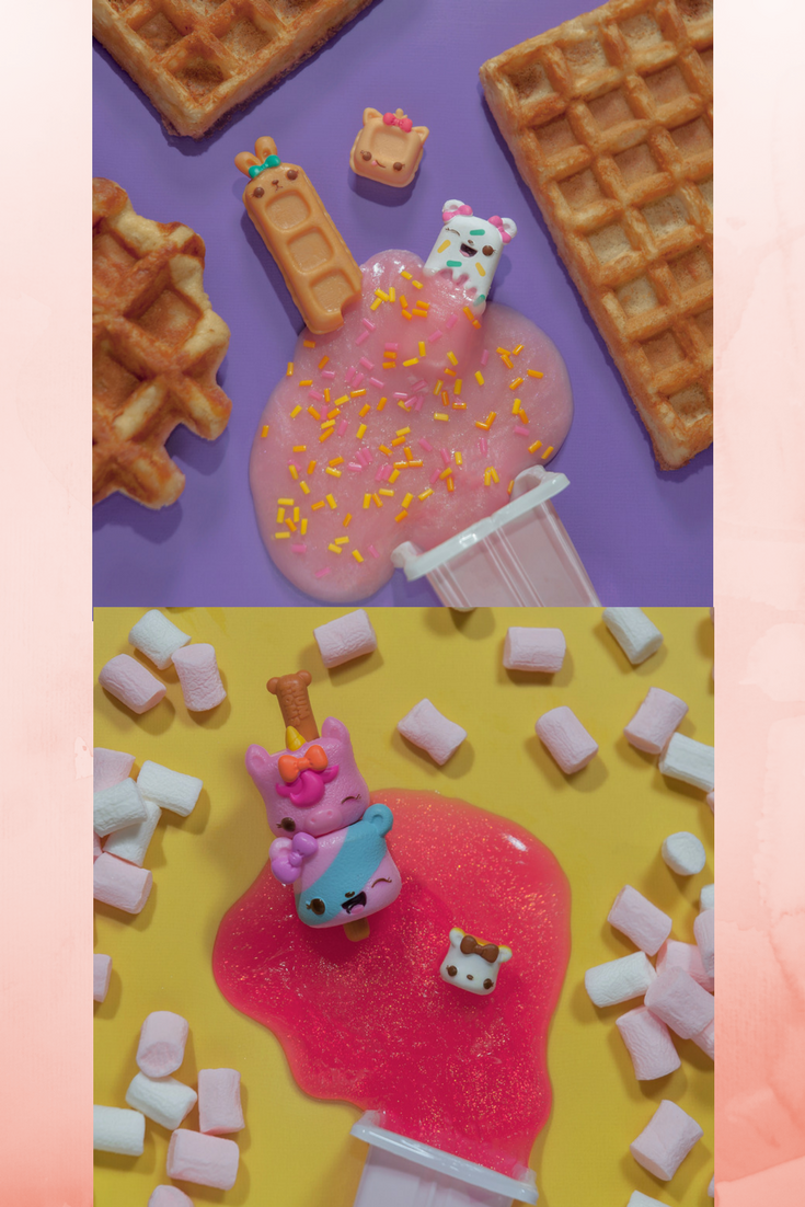 Num Noms Series 1 Snackables Dippers Straw-Beary Sammich