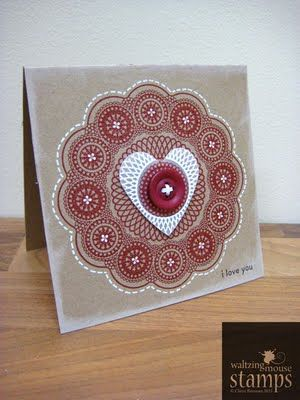 doily stamps
