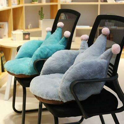 Cute Crown Shape Plush Thickening Cushion Seat Chair Pads ...