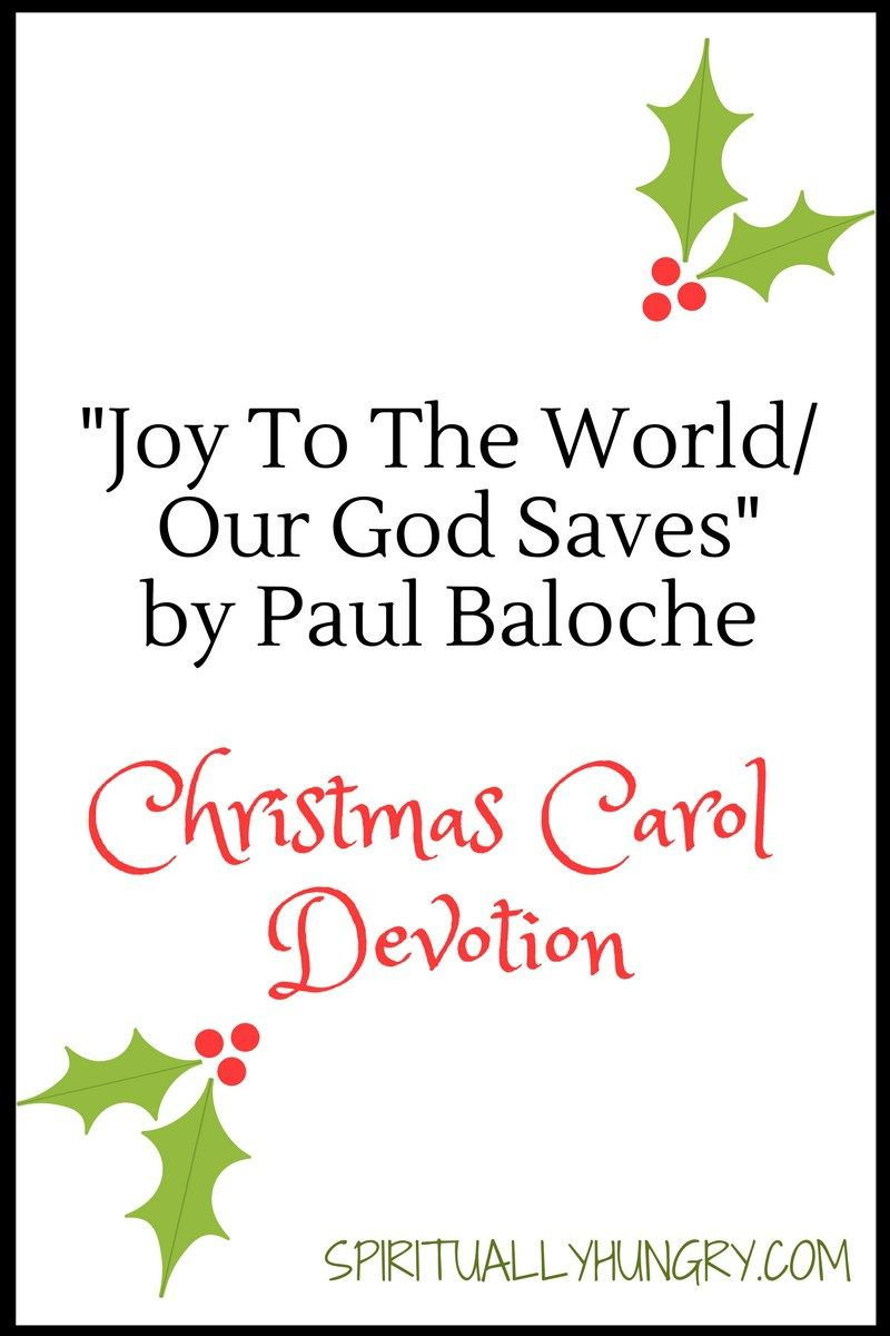 Joy To The World/Our God Saves\