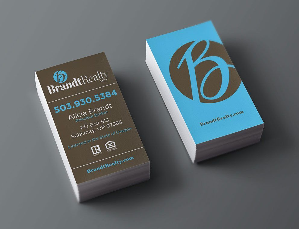 Brandt Realty - Real Estate Business Cards | Business Cards ...