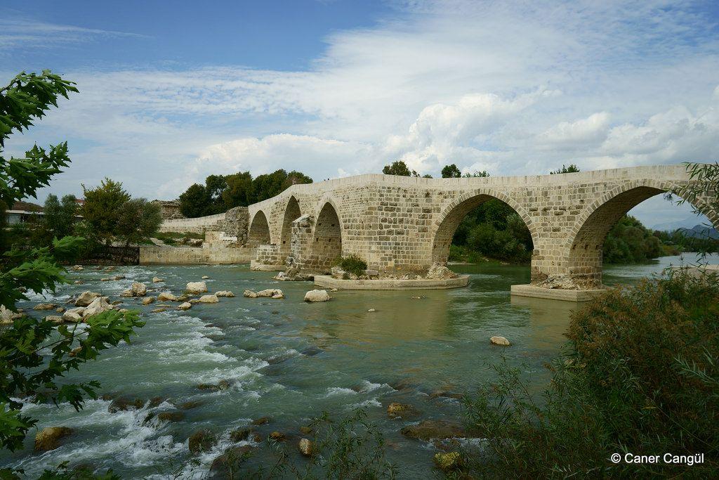 Tarihi Aspendos Köprüsü, Antalya
