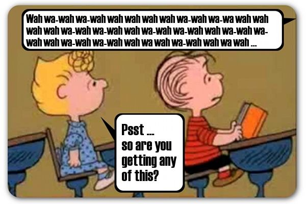 Image result for charlie brown teacher voice peanuts