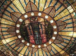stained glass dome ceiling - Google Search