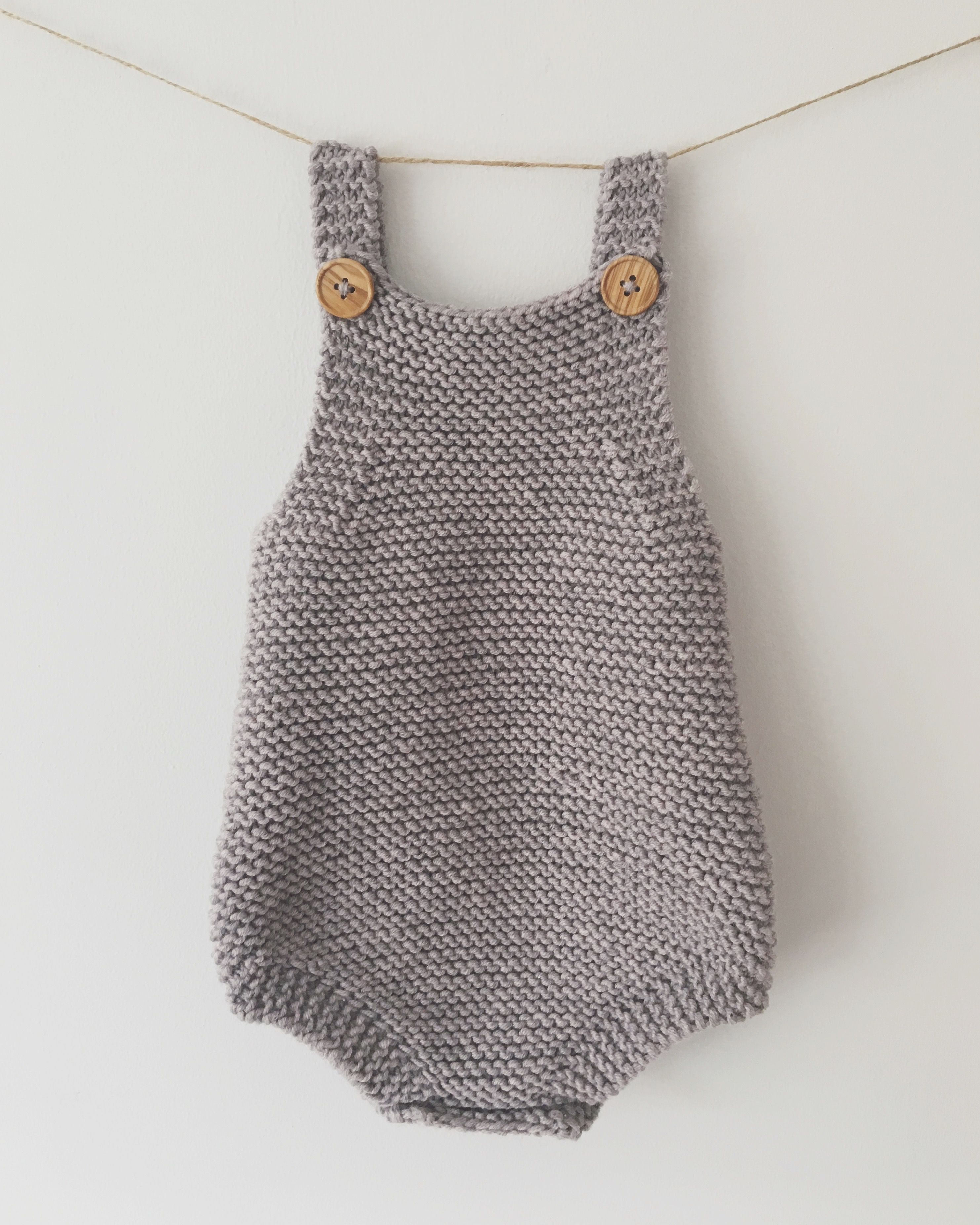 31f19c00950e5 baby romper knitting pattern by pippyeve Knit Baby Sweaters