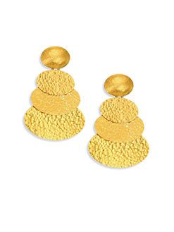 Gurhan Mango 24k Double-Drop Earrings lE9wnZOhK