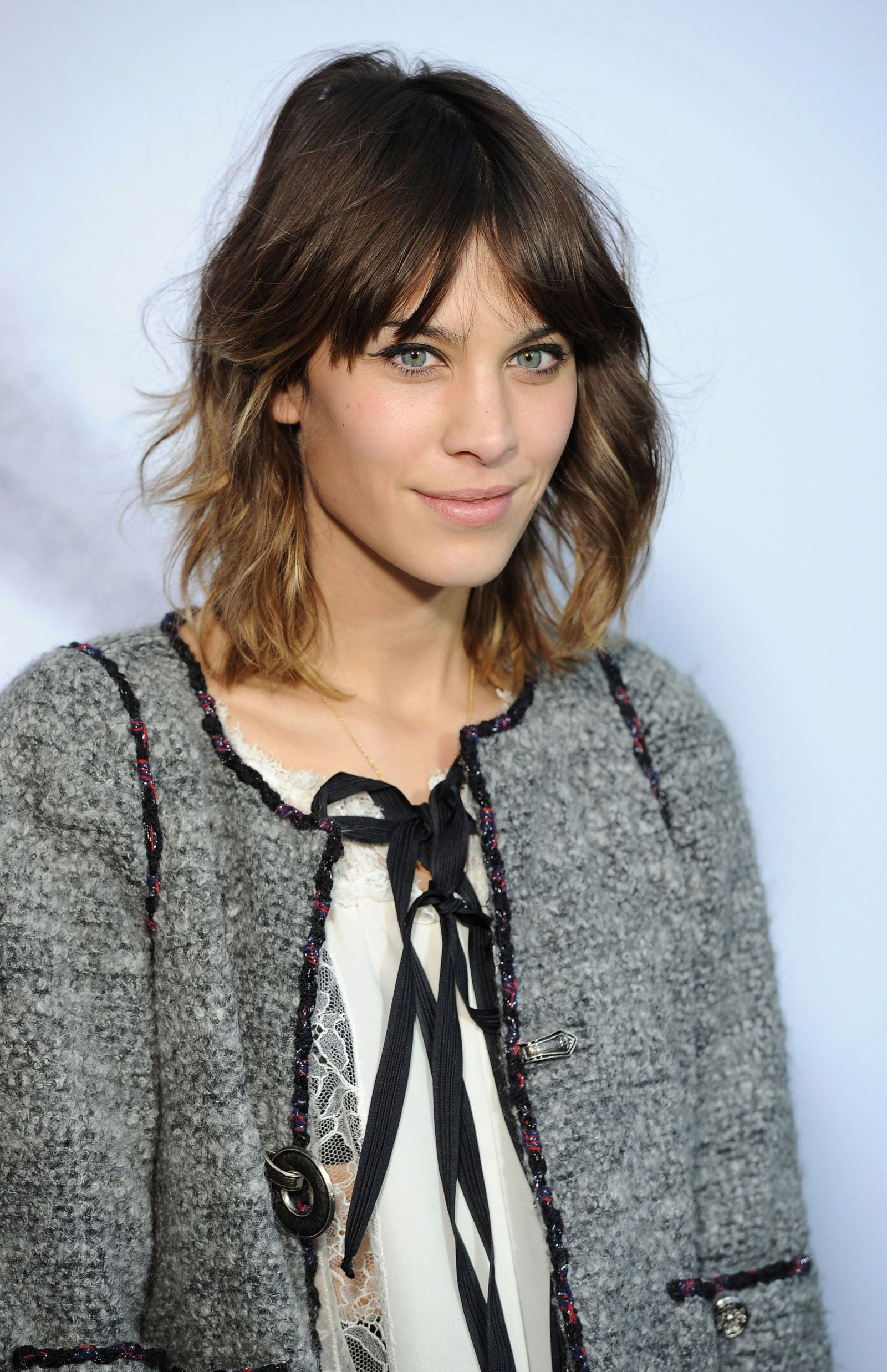 The chicest lobs of the year bangs medium hair and hair style
