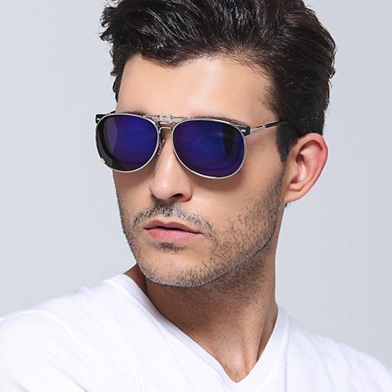 6ada2cec58e2 ROUPAI Sun Glasses Men Polarized Clip On Sunglasses Man 2017 Luxury Brand  Design Solar Glasses Aviator