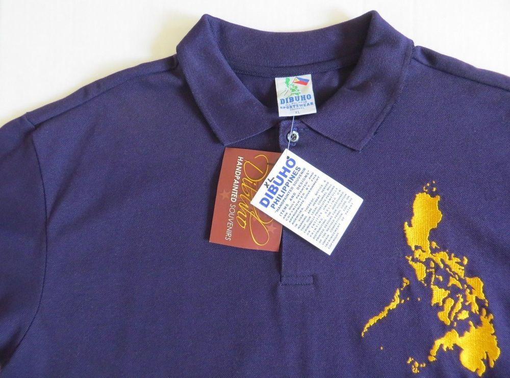 Nwt Dibuho Embroidered Philippines Map