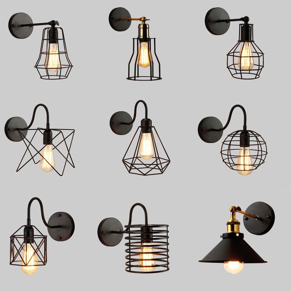 Cheap Wall Lamps Buy Quality Lights Lighting Directly From China Suppliers Led Wall Light Retro Loft Ind Sovremennye Svetilniki Nastennye Lampy Svetilniki