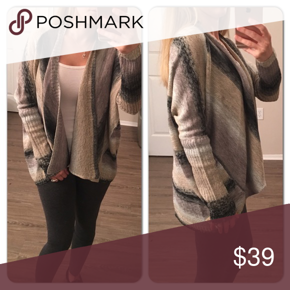 Beige&Grays Cardigan Sweater Boutique | Grey cardigan, Ponchos and ...