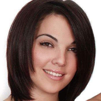 Corte de pelo rejuvenecedor cara redonda