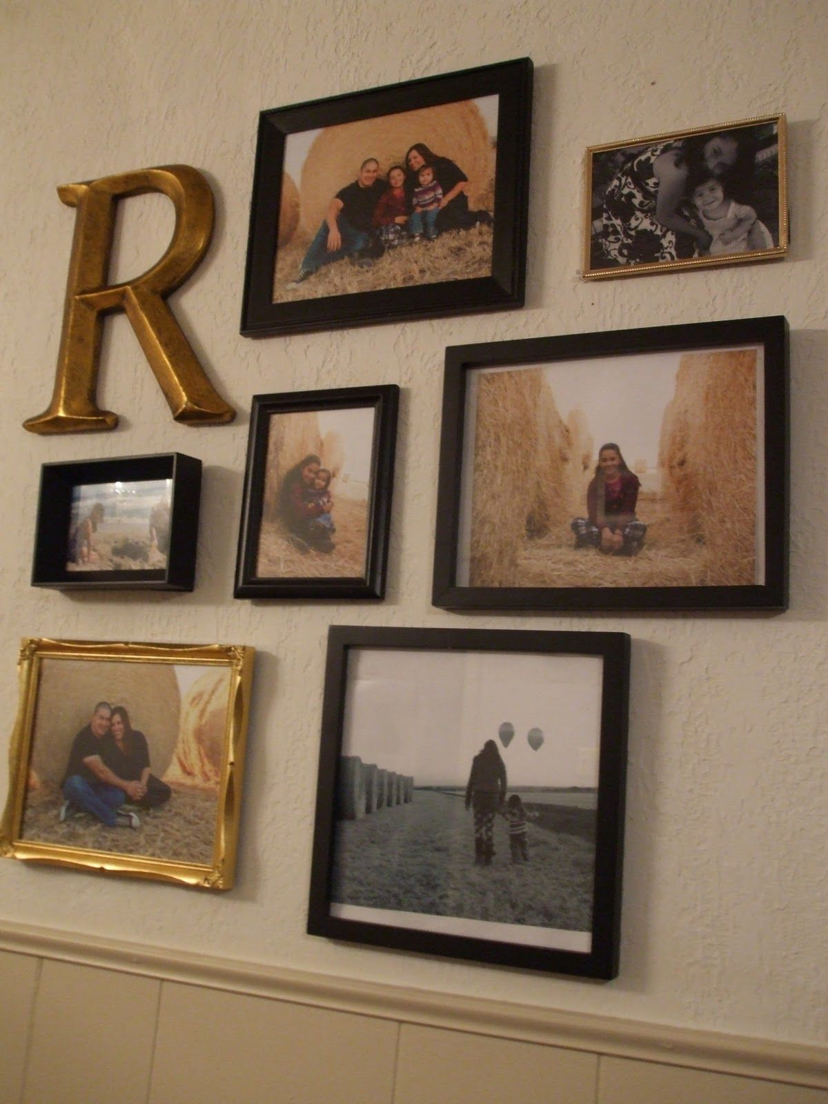 Bilderrahmen Collage Ebay I've Always Loves Mixing Picture Frame Sizes And Designs