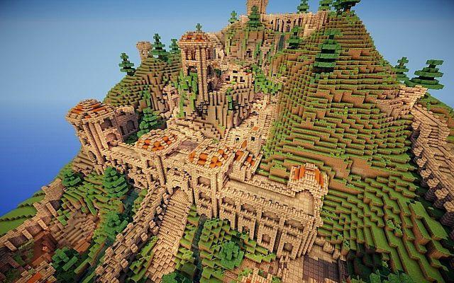 Dwarven City Mod 1 7 2 | Minecraft | Minecraft mods