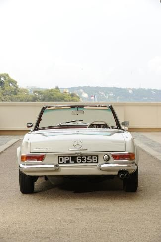 'Mercedes Benz 230SL 1963' Photographic Print – Simon Clay | Art.com