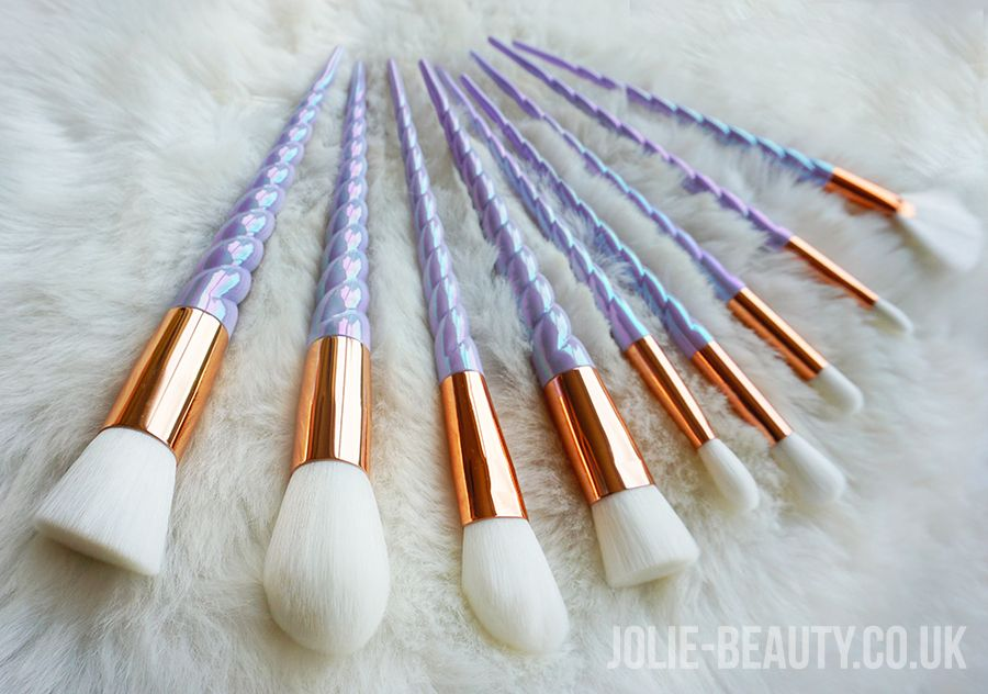 Jolie Beauty has the most amazing pearlescent unicorn