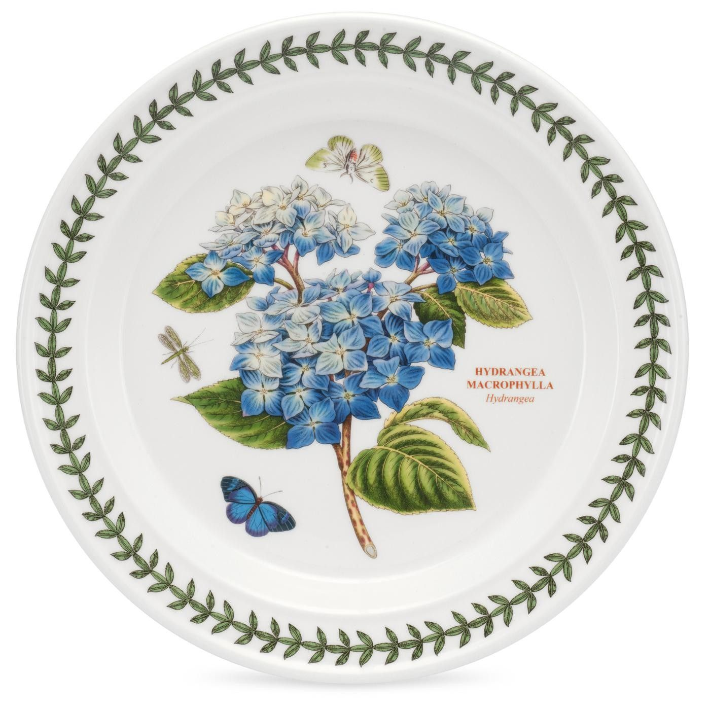 Portmeirion Botanic Garden 10 Inch Dinner Plate Hydrangea